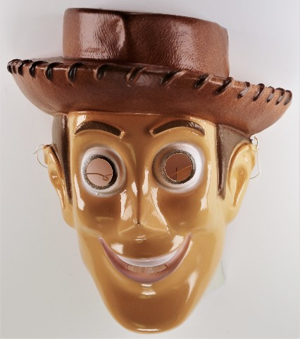 Vintage Disney Woody Toy Story Halloween Mask Cesar Pixar