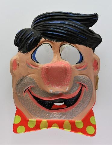 Vintage Ben Cooper The Flintstones Fred Flintstone Halloween Mask Hanna Barbera