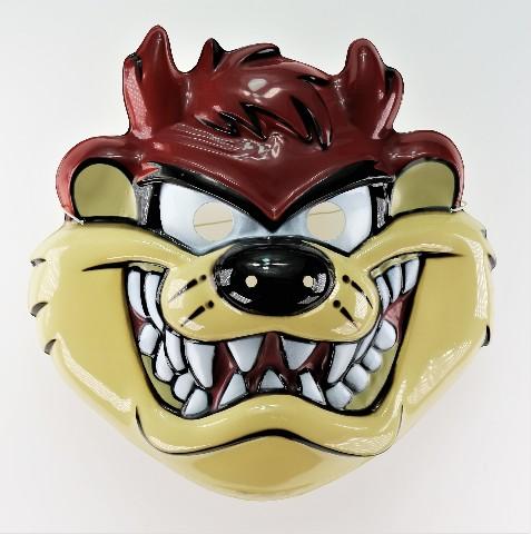 Vintage Looney Tunes Taz Tasmanian Devil Halloween Mask Tweety Bird Bugs Bunny