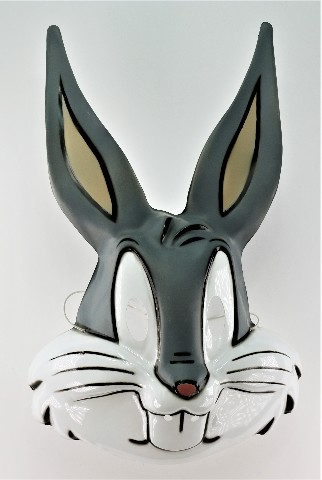 Vintage Looney Tunes Bugs Bunny Halloween Mask Tweety Bird Taz Daffy Rabbit Y237