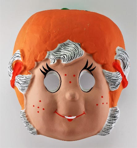 Vintage Strawberry Shortcake Apricot Hopsalot Halloween Mask Early 1980s Y170