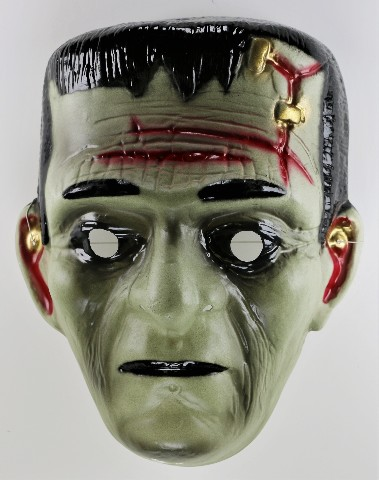 Vintage Monster Frankenstein Halloween Costume Mask Monster Vampire Dracula Y162