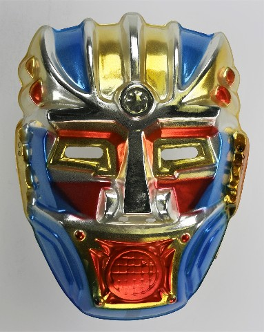 Vintage Toppstone Sky Warrior Halloween Mask Robot Animation Y233