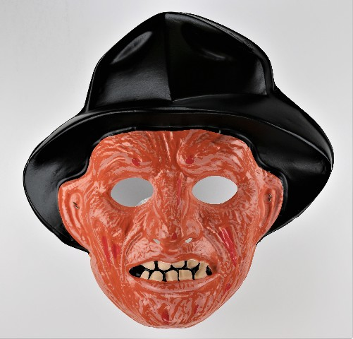 Vintage Collegeville Freddy Krueger Halloween Mask Nightmare on Elm Street 1987 Y269