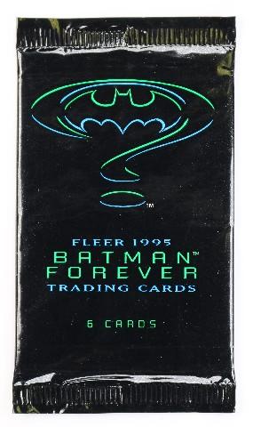 Vintage 1995 DC Comics Batman Forever Baseball Trading Cards