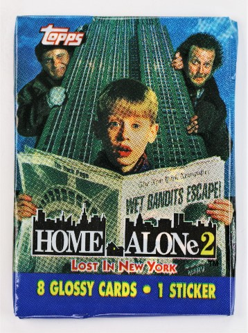 Vintage 1992 Topps Home Alone 2 Trading Cards NYC Classic Movies Christmas Stocking Stuffer