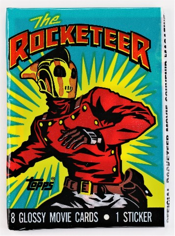 Vintage 1991 Topps Rocketeer Trading Cards Wax Pack