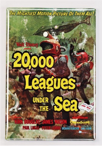 Walt Disney 20,000 Leagues Under The Sea Movie Poster ...