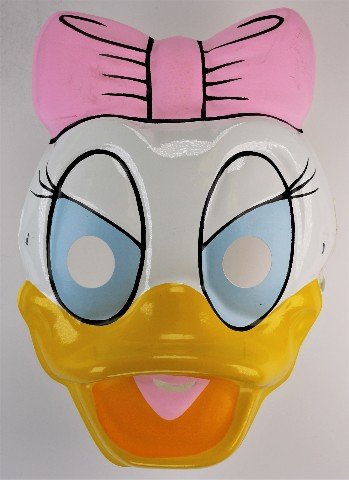 Vintage Disney Daisy Duck Halloween Mask Ben Cooper Donald Duck Mickey Mouse