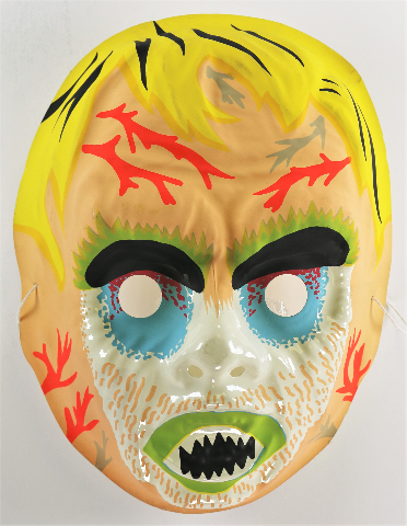 Vintage Zombie Monster Halloween Mask AJ Quality 1980s