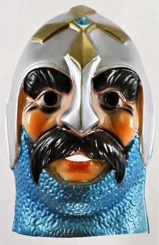 Vintage Cesar Medieval Knight Halloween Mask Cesar Y151