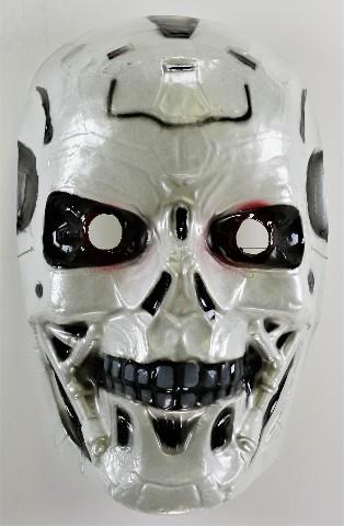 Vintage Terminator T-800 Model 101 Halloween Mask Schwarzenegger Skynet Y167