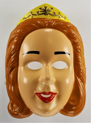 Vintage Cinderella Princess Queen Halloween Mask Rubies 92 Y274