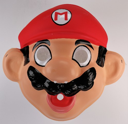 Vintage Ben Cooper Nintendo Mario Brothers Halloween Mask ...