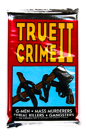 True Crime Series 2 Vintage Trading Cards ONE Pack 1992 Serial Killers Murder