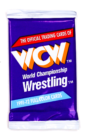WCW Vintage Wrestling Trading Cards ONE Pack 1991 Sting Ric Flair NWO WWF WWE