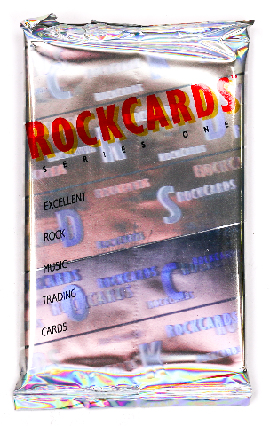 Rock Cards Vintage Trading Cards ONE Pack 1992 Pink Floyd Grateful Dead Rockcards
