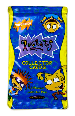 Rugrats Vintage Trading Cards ONE Pack 1997 Nickelodeon 90s Cartoon