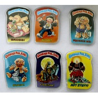 Vintage Topps Garbage Pail Kids Buttons (6 Buttons) Lot 6