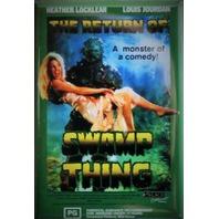 Return of Swamp Thing Movie Poster FRIDGE MAGNET Cult Classic Monster DC Comics Comic Book 1980s