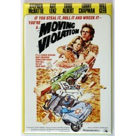 Moving Violation FRIDGE MAGNET Movie Poster Classic Hollywood Car Chase Film H11