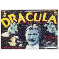 Dracula Bela Lucosi 1931 Movie Poster FRIDGE MAGNET Vampire Monster E4
