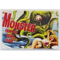 Monster From The Ocean Floor Movie Poster FRIDGE MAGNET Monster Film Horror Sci Fi