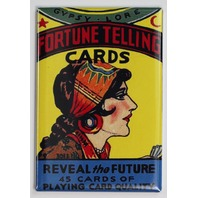 Fortune Telling Cards FRIDGE MAGNET Gypsy Vintage Style