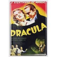 Dracula Movie Poster FRIDGE MAGNET Bela Lugosi Frankenstein Wolfman Monster D4