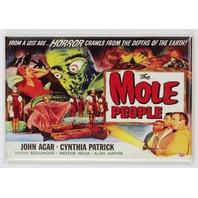 The Mole People Movie Poster FRIDGE MAGNET Monster Film 1950's Sci Fi