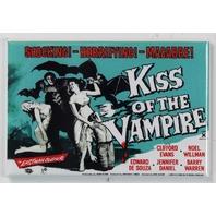 Kiss of the Vampire Movie Poster FRIDGE MAGNET 1950's Horror Universal Monster Dracula