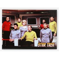 Star Trek Original Series Mr Spock Captain Kirk Refrigerator FRIDGE MAGNET The Enterprise Kirk McCoy H14
