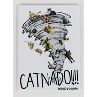 Catnado FRIDGE MAGNET  Cat Humor Funny G26