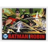 Batman and Robin FRIDGE MAGNET Gotham City Superman Batman Robin DC Comics H31