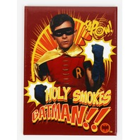 Batman and Robin Holy Smokes FRIDGE MAGNET Gotham City  DC Comics H32 SD3818