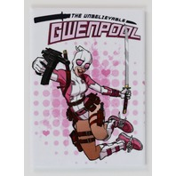 Gwenpool Deadpool FRIDGE MAGNET Marvel Comics Spiderman Gwen I31