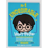 Harry Potter No. 1 Undesirable Hogwarts FRIDGE MAGNET wizard school J26