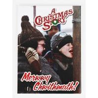 A Christmas Story Merry Christmas FRIDGE MAGNET Funny Retro Vintage Style ATAM J28