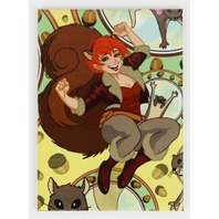 squirrel girl FRIDGE MAGNET Marvel Comics Avengers J30