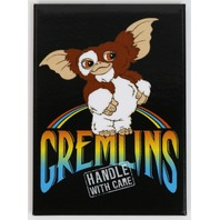 Gizmo Gremlins Handle With Care Refrigerator FRIDGE MAGNET 1980's  J31
