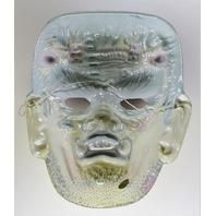 Vintage Frankenstein Halloween Mask Monster 1960's 1970's Y229
