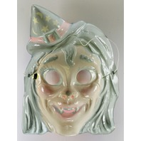 Vintage Ben Cooper Vampire Witch Halloween Mask Monster