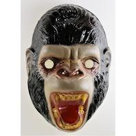 Vintage King Kong Halloween Mask Gorilla Ape 1990s Y224