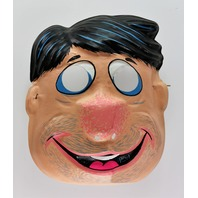 Vintage Ben Cooper The Flintstones Fred Flintstone Halloween Mask Hanna Barbera Y205