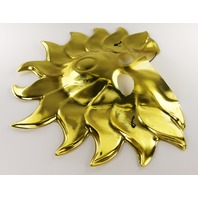 Golden Sun Man Halloween Mask Gold Spaceman Celestial Star Man Solar System Y232