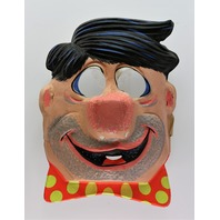 Vintage Ben Cooper The Flintstones Fred Flintstone Halloween Mask Hanna Barbera