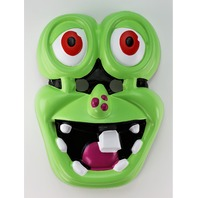 Disney Bump In The Night Mr. Bumpy Halloween Mask Green Grass