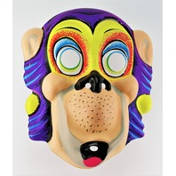Vintage Cartoon Ape Halloween Mask Monkey Gorilla Jungle