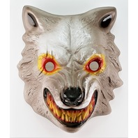 Vintage Werewolf Wolf Man Halloween Mask Big Bad Wolf Little Red Riding Hood