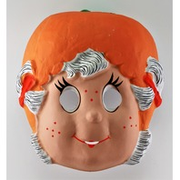 Vintage Strawberry Shortcake Apricot Hopsalot Halloween Mask Early 1980s